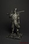 Первая мировая Французский пехотинец - Оловянный солдатик. Чернение. Высота солдатика 54 мм