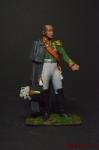 Барклай-де-Толли, командующий 1-й Западной армией. Россия 1812 - Оловянный солдатик коллекционная роспись 54 мм. Все оловянные солдатики расписываются художником вручную