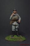 Немецкий телефонист, 1915 год - Оловянный солдатик коллекционная роспись 54 мм. Все оловянные солдатики расписываются художником вручную