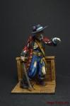 Капитан Барбосса - Оловянный солдатик коллекционная роспись 54 мм. Все оловянные солдатики расписываются художником вручную