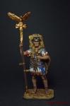 Аквилифер римского легиона. 1-2 вв. н.э. - Оловянный солдатик коллекционная роспись 54 мм. Все оловянные солдатики расписываются художником вручную