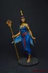 Египетская богиня Исида - Оловянный солдатик коллекционная роспись 54 мм. Все оловянные солдатики расписываются художником вручную