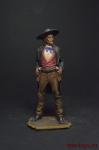 Дикий Билл Хикок - Оловянный солдатик коллекционная роспись 54 мм. Все оловянные солдатики расписываются художником вручную