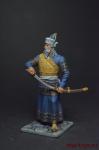 Византийская Империя. Император Мануил II Палеолог, 1395 - Оловянный солдатик коллекционная роспись 54 мм. Все оловянные солдатики расписываются художником вручную