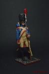 Жандарм караула  1806 - Оловянный солдатик коллекционная роспись 54 мм. Все оловянные солдатики расписываются художником вручную