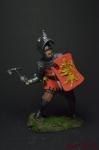 Рыцарь Тевтонского ордена, комтурство Брунсвик, 15 век 75 мм - Оловянный солдатик коллекционная роспись 75 мм. Все оловянные солдатики расписываются художником вручную