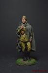 Девушка снайпер, 1943 - Оловянный солдатик коллекционная роспись 54 мм. Все оловянные солдатики расписываются художником вручную
