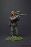 Немецкий солдат, 1945 - Оловянный солдатик коллекционная роспись 54 мм. Все оловянные солдатики расписываются художником вручную