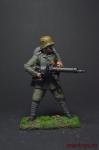 Первая мировая война. Немецкий штурмовик - Оловянный солдатик коллекционная роспись 54 мм. Все оловянные солдатики расписываются художником вручную