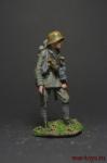 Штурмовик (1917) - Оловянный солдатик коллекционная роспись 54 мм. Все оловянные солдатики расписываются художником вручную