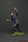 Старший лейтенант РККФ, 1940-1943 гг. - Оловянный солдатик коллекционная роспись 54 мм. Все оловянные солдатики расписываются художником вручную
