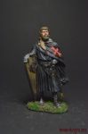 Рыцарь-госпитальер, 1248-59 - Оловянный солдатик коллекционная роспись 54 мм. Все оловянные солдатики расписываются художником вручную