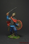 Древнерусский воин, 10 век - Оловянный солдатик коллекционная роспись 54 мм. Все оловянные солдатики расписываются художником вручную