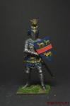 Сэр Хью Калвли. Англия, 2-я пол. 14 века - Оловянный солдатик коллекционная роспись 54 мм. Все оловянные солдатики расписываются художником вручную