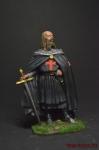 Жак де Моле, магистр ордена тамплиеров, 1244-1314 - Оловянный солдатик коллекционная роспись 54 мм. Все оловянные солдатики расписываются художником вручную
