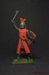 Вальтер фон Герольдсек, епископ Страсбурга, 1262 - Оловянный солдатик коллекционная роспись 54 мм. Все оловянные солдатики расписываются художником вручную