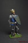 Король Франции Иоанн II Добрый, 1356 - Оловянный солдатик коллекционная роспись 54 мм. Все оловянные солдатики расписываются художником вручную