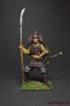 Самурай, 11-13 век - Оловянный солдатик коллекционная роспись 54 мм. Все оловянные солдатики расписываются художником вручную