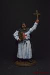 Брат-лекарь. Госпитальеры - Оловянный солдатик коллекционная роспись 54 мм. Все оловянные солдатики расписываются художником вручную