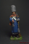 Французский солдат (отступление от Москвы) 1812 - Оловянный солдатик коллекционная роспись 54 мм. Все оловянные солдатики расписываются художником вручную