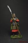 Всадник поместной конницы начало 17 века - Оловянный солдатик коллекционная роспись 54 мм. Все оловянные солдатики расписываются художником вручную
