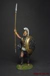Царь, призывающий воинов к бою (Греция) 5 в до н.э. - Оловянный солдатик коллекционная роспись 54 мм. Все оловянные солдатики расписываются художником вручную
