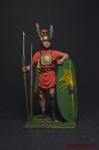 Римский легионер, 3-2 вв. до н.э. - Оловянный солдатик коллекционная роспись 54 мм. Все оловянные солдатики расписываются художником вручную
