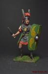Римский центурион, нач. 1 века н.э. - Оловянный солдатик коллекционная роспись 54 мм. Все оловянные солдатики расписываются художником вручную