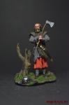 Германский Воин - Оловянный солдатик коллекционная роспись 54 мм. Все оловянные солдатики расписываются художником вручную