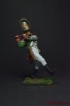 Флейтист лейб гвардии 1802-1805 - Оловянный солдатик коллекционная роспись 54 мм. Все оловянные солдатики расписываются художником вручную