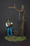 Хороший, плохой, злой - Оловянный солдатик коллекционная роспись 54 мм. Все оловянные солдатики расписываются художником вручную