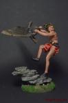 Дикий запад. Вызов - Оловянный солдатик коллекционная роспись 54 мм. Все оловянные солдатики расписываются художником вручную