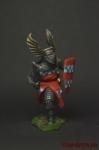 Германский рыцарь, 12 век - Оловянный солдатик коллекционная роспись 54 мм. Все оловянные солдатики расписываются художником вручную