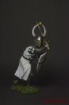 Рыцарь Тевтонского ордена, 13 век. - Оловянный солдатик коллекционная роспись 54 мм. Все оловянные солдатики расписываются художником вручную