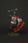 Рыцарь Тевтонского ордена, 14-15 век. - Оловянный солдатик коллекционная роспись 54 мм. Все оловянные солдатики расписываются художником вручную