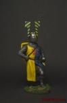 Рыцарь-гость Тевтонского ордена, 13 век - Оловянный солдатик коллекционная роспись 54 мм. Все оловянные солдатики расписываются художником вручную