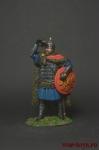 Знатный русский воин, 13 век - Оловянный солдатик коллекционная роспись 54 мм. Все оловянные солдатики расписываются художником вручную