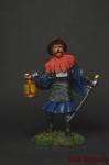 Силезский рыцарь 15 век. - Оловянный солдатик коллекционная роспись 54 мм. Все оловянные солдатики расписываются художником вручную