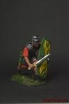 Легионер XIX легиона, 9 г. н. э. - Оловянный солдатик коллекционная роспись 54 мм. Все оловянные солдатики расписываются художником вручную