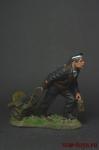 Старшина 2-й статьи РККФ, 1940-1943 - Оловянный солдатик коллекционная роспись 54 мм. Все оловянные солдатики расписываются художником вручную