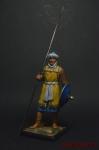 Воины ислама. Бербер армии фатимидов. 10 век - Оловянный солдатик коллекционная роспись 54 мм. Все оловянные солдатики расписываются художником вручную