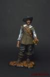 Капитан Алатристе - Оловянный солдатик коллекционная роспись 54 мм. Все оловянные солдатики расписываются художником вручную