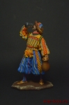 Пьяный ландскнехт - Оловянный солдатик коллекционная роспись 54 мм. Все оловянные солдатики расписываются художником вручную