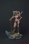 Демонесса - Оловянный солдатик коллекционная роспись 54 мм. Все оловянные солдатики расписываются художником вручную