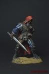 Охотник на чудовищ - Оловянный солдатик коллекционная роспись 54 мм. Все оловянные солдатики расписываются художником вручную