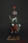 Почетный караул 1-го полка - Оловянный солдатик коллекционная роспись 54 мм. Все оловянные солдатики расписываются художником вручную