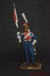 Польский гвардейский улан 1813 г. - Оловянный солдатик коллекционная роспись 54 мм. Все оловянные солдатики расписываются художником вручную