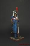 Пехотный гренадер гвардии в походной одежде - Оловянный солдатик коллекционная роспись 54 мм. Все оловянные солдатики расписываются художником вручную