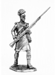Рядовой роты центра 42-го Королевского шотландского полка 1806 - Оловянный солдатик. Чернение. Высота солдатика 54 мм