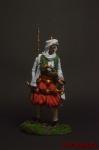 Албанский вождь - начало 19 в. - Оловянный солдатик коллекционная роспись 54 мм. Все оловянные солдатики расписываются художником вручную